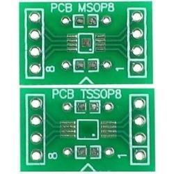 Pcb adaptador SMD-Dip TSSOP/MSOP8