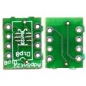 Pcb adaptador SMD-Pcb Dip8-Sot23