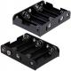 Portapilas baterías 5 x AA, LR06, 14500 Clip 6F22