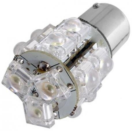 Led P21-5W 13 Led Superfluxe 12V. BA15D 1142 2 contactos