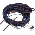 """Cables Plano de Colores """"Flat cable"""" de 4 hilos"""