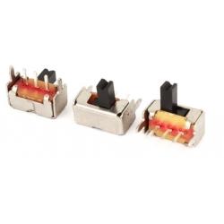 Interuptor deslizante acodado 8.6x4.6x4.7mm 1C-2pos.12D07VGA4
