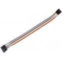 Juego de 10 Cables Dupont Macho-Hembra 1 pin