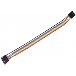 Conector Dupont Hembra-Hembra Cable 140mm