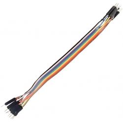 Juego 10 Cables Dupont Macho para Placa Board de prototipos