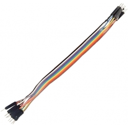 Conector Dupont Macho-Macho Cable 80-120mm 1 pin