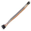 Conector Dupont Macho-Macho Cable 80-120mm 1 pin