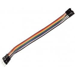 Juego 10 Cables Dupont Macho-Hembra para Placa Board de prototipos