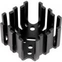 Disipador Térmico Aluminio prensado 45x25mm para TO3