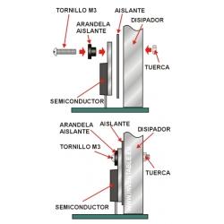 Aislantes Mica para Semiconductores