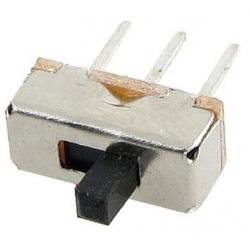 Interuptor deslizante 8.5 x 3.5 x 3.5mm 1C-2pos.