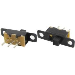 Mini Interuptor deslizante vertical 11x6x5mm 1Circ.2pos.