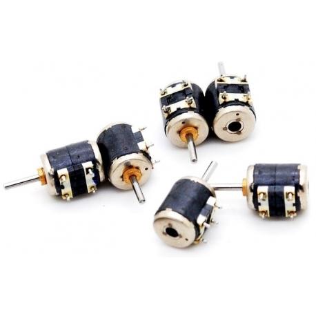 Micro Motores paso a paso 2 fases 4 hilos 7.5x6mm
