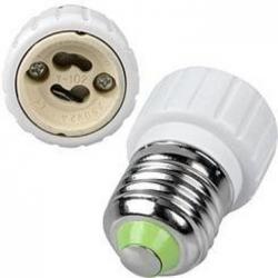 Adaptador de Lámparas GU10-E27