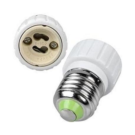 Adaptadores de Lámparas GU10-E27