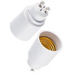 Adaptador de Lámparas E27-GU10