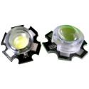 Mini Lente Cúpula de 13x10mm para Led Lumiled/Edison