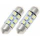 Festoon 8 LED 3528 de 36mm