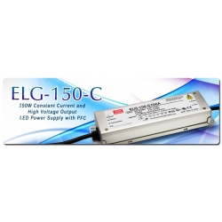 Fuentes ELG150C Mean-well estancas Led