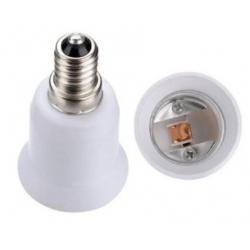Casquillo Adaptador de Lámparas E27-E12