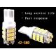 Bombilla LED T10 42 Led 1210 chip SMD 12v