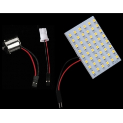 Modulo de 48 led 1210 SMD Bl.Calido