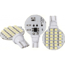 Bombillas T10 de 24 Led SMD 3528 26mm