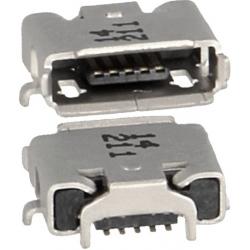 Conector Micro USB-B Hembra PCB SMd 5 pin Molex