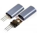 Tubos Aislante de silicona para transistor TOxx