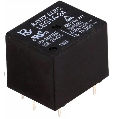 Rele Cubo 24v.10A. Rayex