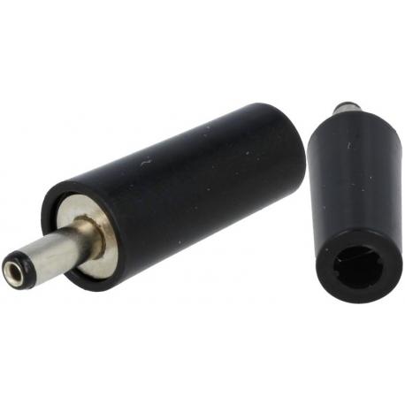 Conector Jack macho de alimentación 3.4-1.3mm