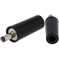 Conector Jack macho de alimentación 3.8-1mm