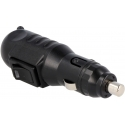 Conector mechero 12v con Interruptor