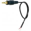 Conector Jack 3.5 Mono con Cable