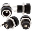 Conectores Jack de panel Hembra 5.5 mm. Lumberg