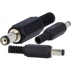 Conector Jack macho de alimentación 5-08-9.5mm