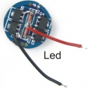 Driver regulador de corriente para LED 1 modo 1.050mA