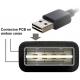Adaptador cableado Easy USB-A Hembra-Macho