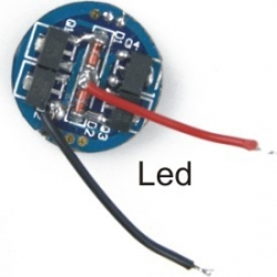 Driver regulador de corriente para LED 1 modo 1.400mA