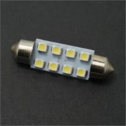 Festoon 8 LED 1210 SMD de 39mm