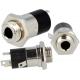 Conector Jack 3.5mm Stereo 4 contactos Hembra Chasis-Pcb Lumberg