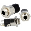 Conector Jack 3.5mm Stereo Hembra 4 Contactos Chasis-Pcb