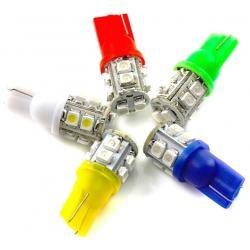 Bombilla LED T10 10 Led 1210 chip SMD 12v