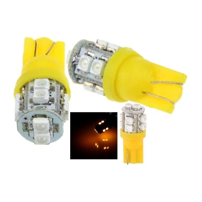 Bombilla led t10 10 led 1210 chip smd 12v - Bombilla led 12v ...