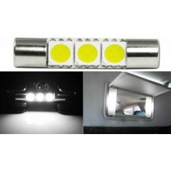 Bombillas 3 LED 5050 Festoon de 29x6mm