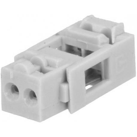 Conectores IDC 2pin paso 2.54 para cable plano