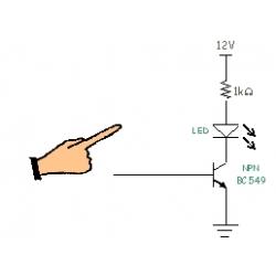 Aplicación con sensores de Impacto, Vibración, Toque