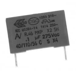 Condensador Capacitor 100nF 275v X2