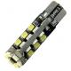 Bombilla LED T10 Canbus 30 Led 3528 SMD 12v