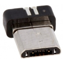 Conector Micro USB A Macho SMD 5 pin Negro